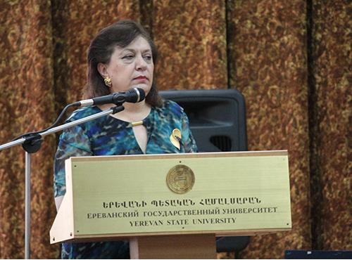Министр Диаспоры РА Грануш Акопян
