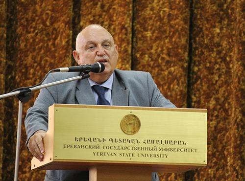 Ректор ЕГУ Арам Симонян