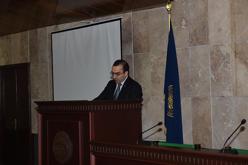 IAS Deputy director, Mher Hovhannisyan