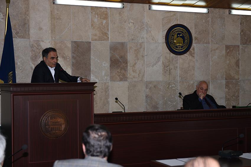 Head of Department of Genocide Studies, Varuzhan Poghosyan