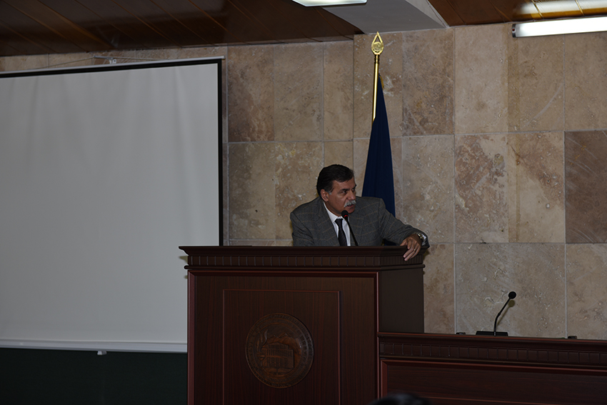 Head of the Laboratory of Archeological Research, Hayk Avetisyan