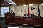Ելույթ է ունենում ՀՀԻ փոխտնօրեն, պ.գ.թ., ՀՊՄ գործադիր տնօրեն  Մհեր Հովհաննիսյանը