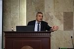 ելույթ է ունենում ՀՊՄ խորհրդի անդամ, ակադեմիկոս, պ.գ.դ., պրոֆեսոր Աշոտ Մելքոնյանը