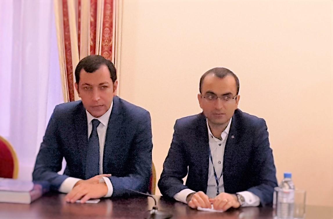 ՌՀՄ ՄՔԲ ղեկավար Շ. Պետրոսյանի հետ