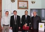 Լևոն Բատիևը, Արտակ Մովսիսյանը, Մհեր Հովհաննիսյանը և Սերգեյ Սայադովը