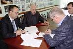 Հայագիտական կենտրոնի ստեղծման մասին պայմանագիրը ստորագրում է Հարավային գիտական կենտրոնի ղեկավար Գենադի Մատիշովը